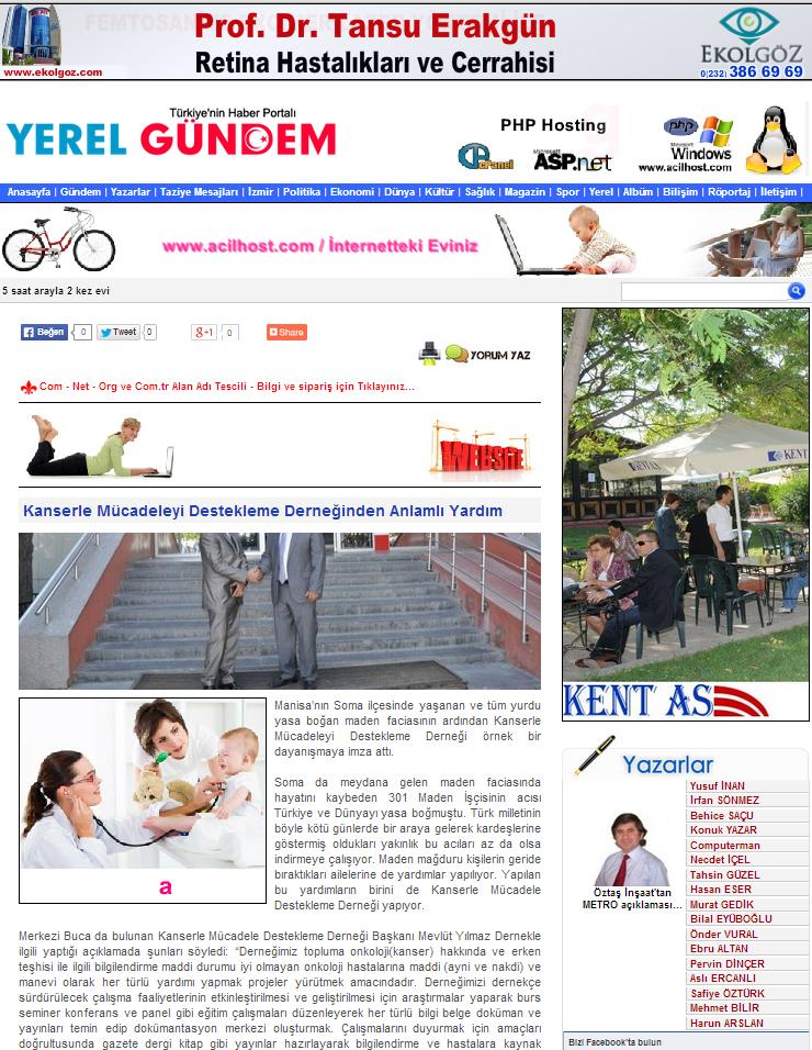 YEREL GÜNDEM TÜRKİYE